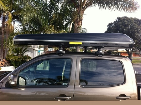 Recently Installed Car Top Tent in Southern California on a Toyota & Car Top Tents | Roof Top Tents for Vehicle Camping - Best Car Top Tent