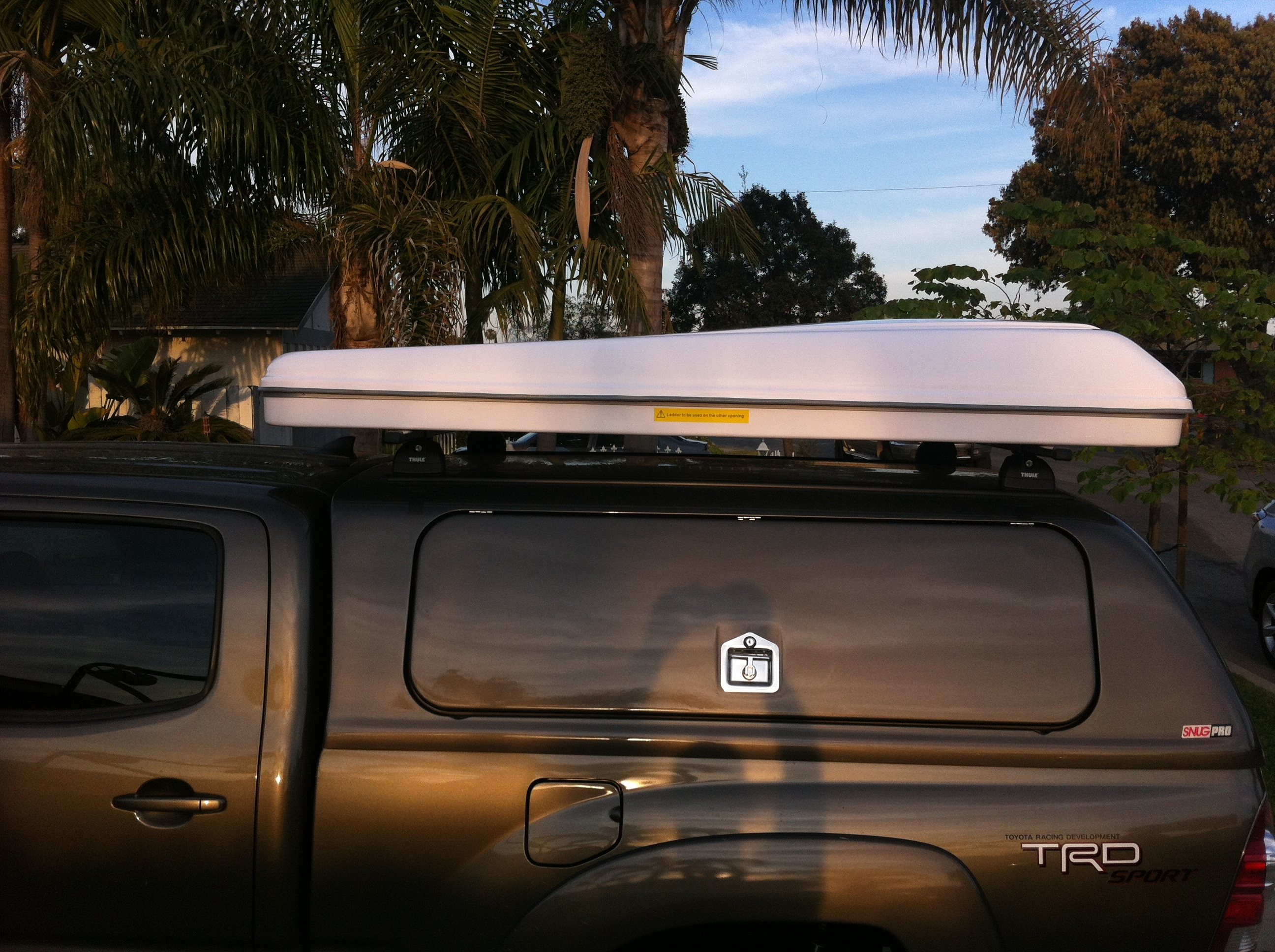 Hard Shell Roof Top Tent - On A Tacoma Toyota : 4 person rooftop tent - memphite.com