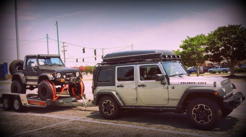 & Jeep Roof Top Tent