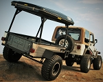 4x4 Off-Road Trailer - Black Scorpion Off-Road / Bigfoot Roof Top Tent