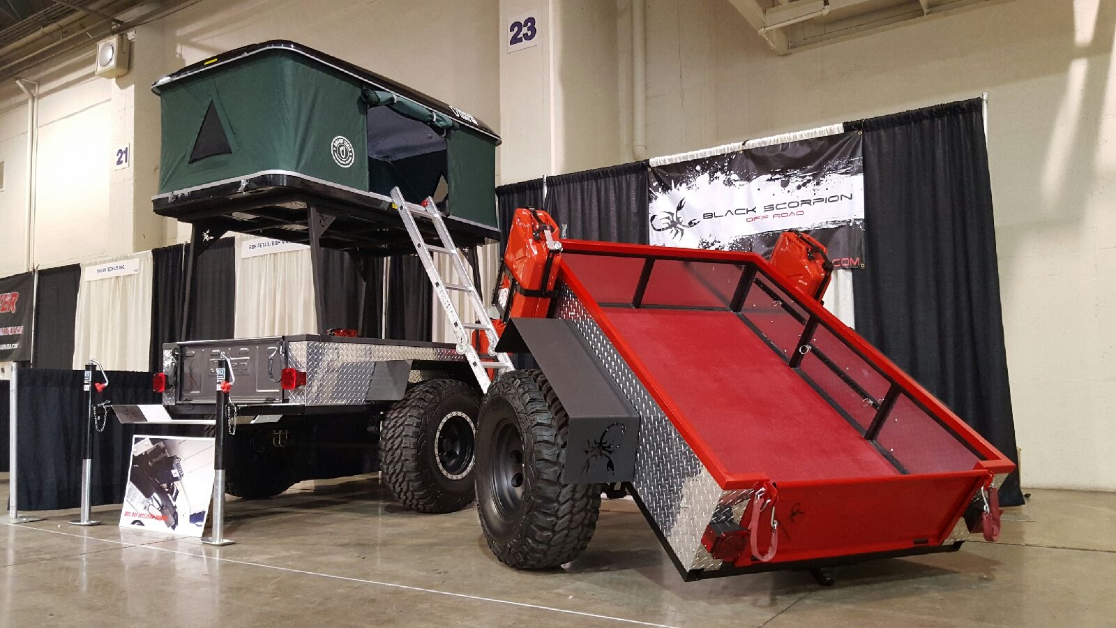 Types Of Trailer Hitches >> Off-Road 4x4 Trailer