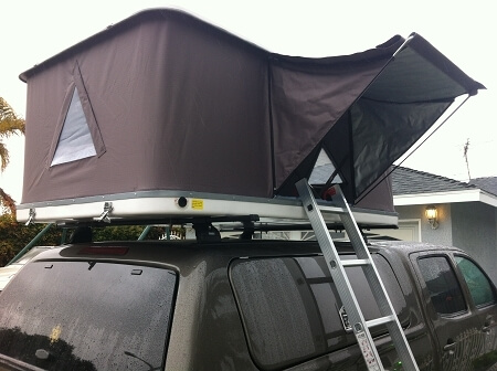 Explorer Hard Shell Roof Top Tent Demo