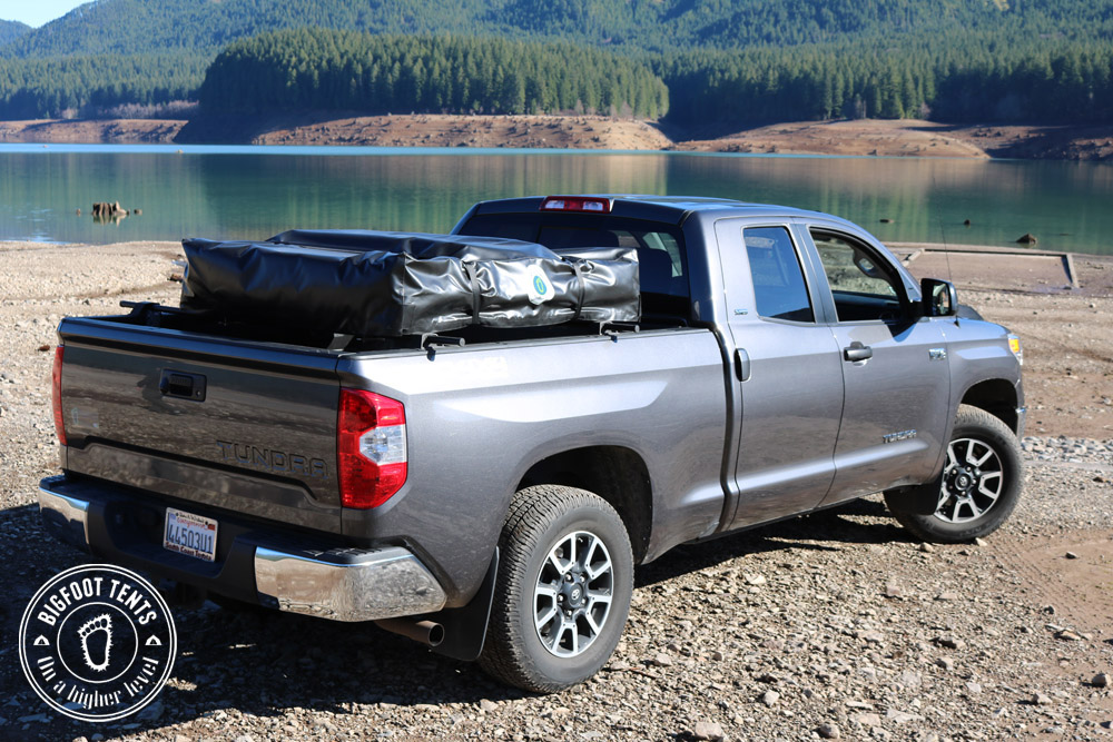 Thatu0027s why some with a p/u mount it low on the bed but sacrifice gear storage space for long term trips & Roof Top Tent - Why? - Chevy Colorado u0026 GMC Canyon