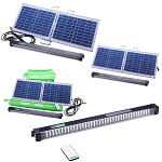 Solar Camping L.E.D Light Bar with Remote