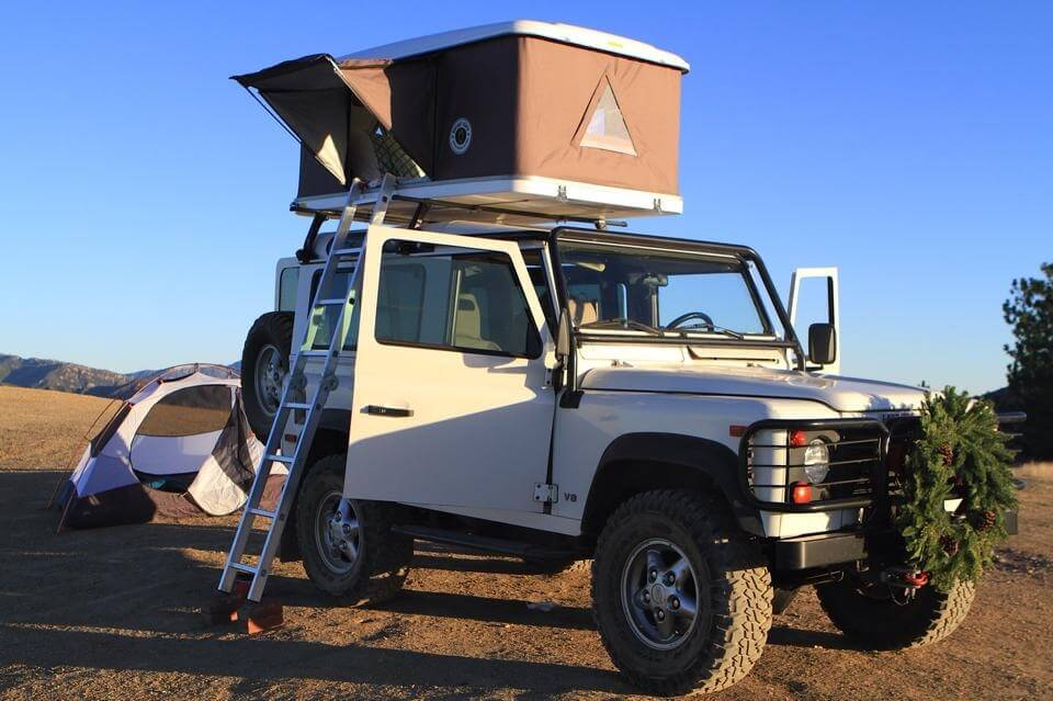 Land Rover Roof Top Tent