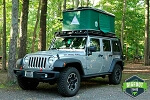 Jeep Hard Shell Roof Top Tent - Explorer Series