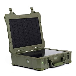 Lightning Solar Pack - Power Bank Solar Generator